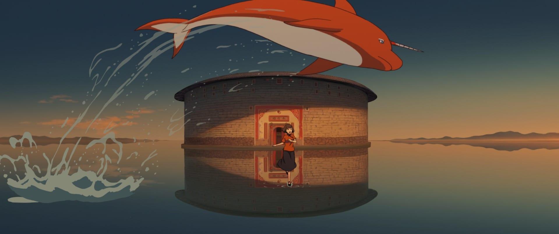 Duża ryba ibegonia