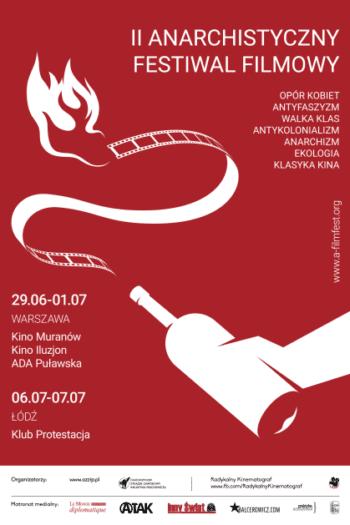 II Anarchistyczny Festiwal Filmowy w Łodzi – Relacja