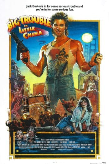 """Camping #24 – """"Wielka draka w chińskiej dzielnicy"""" [Kurt Russell i lasery z oczu na święta!] – Recenzja"""