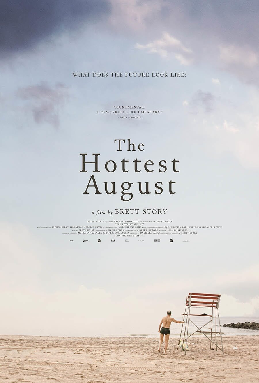 Najgorętszy sierpień plakat / The Hottest August Poster