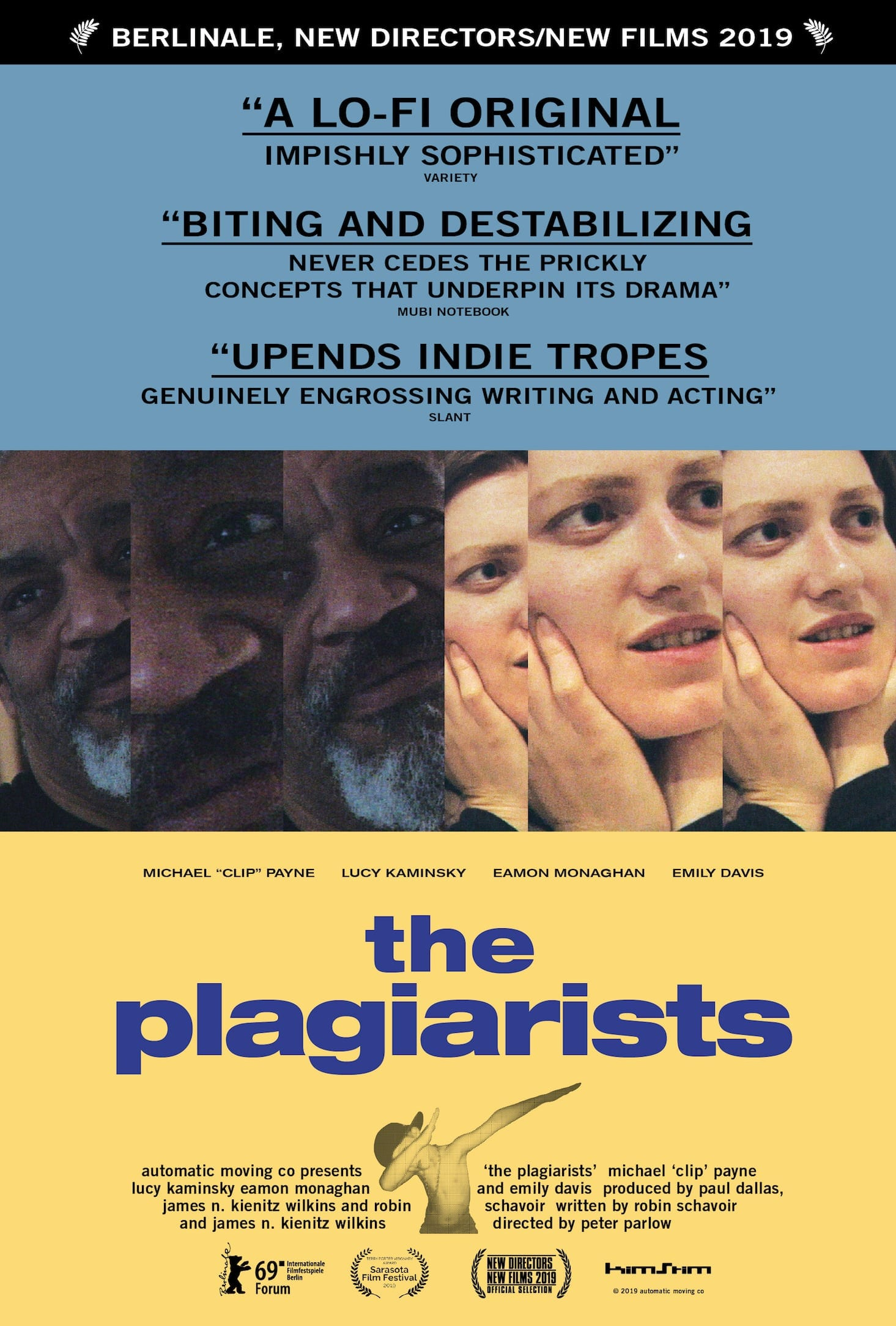 Plagiatorzy plakat / The Plagiarists poster