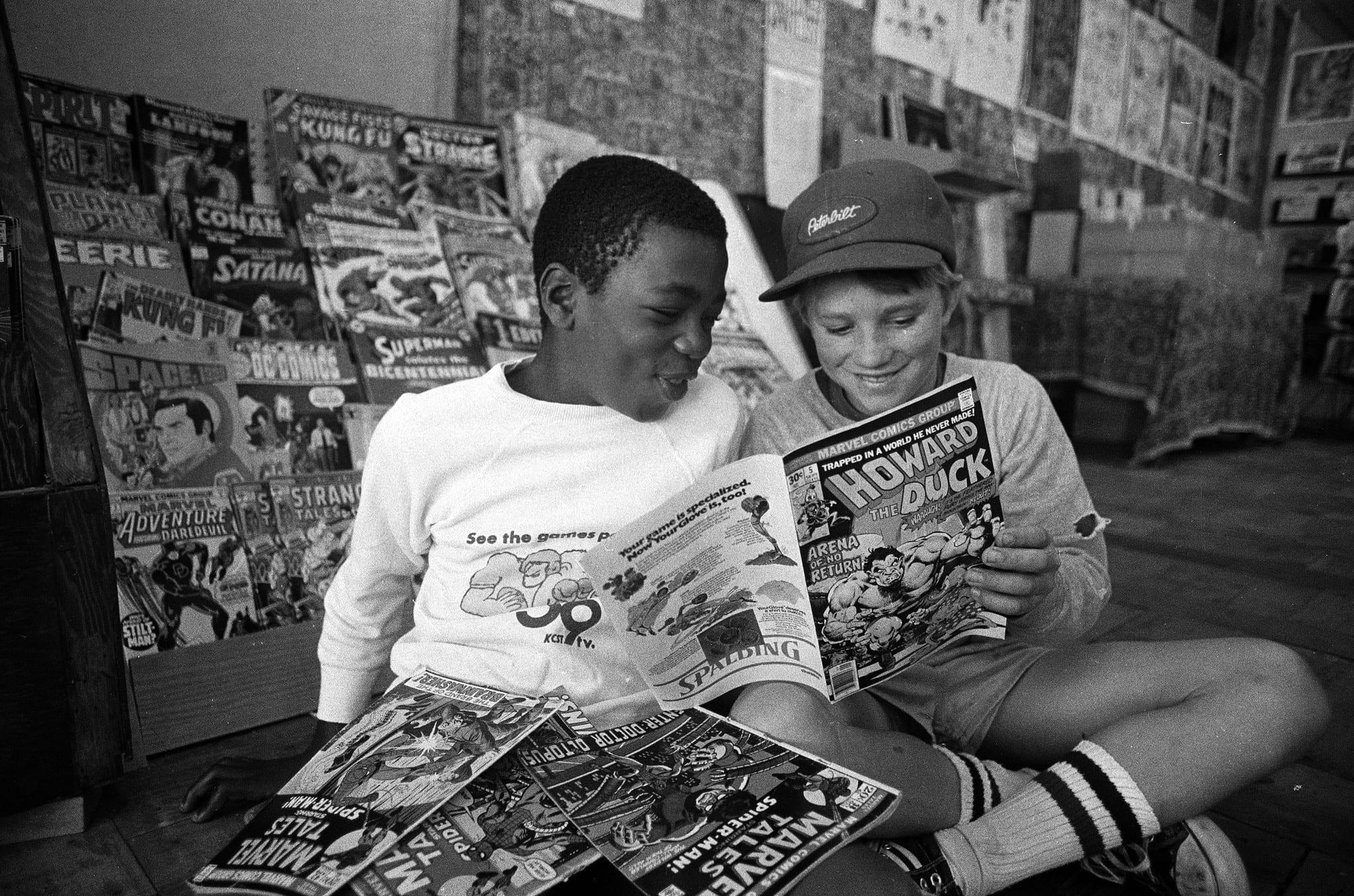 Dlaczego warto czytać komiksy