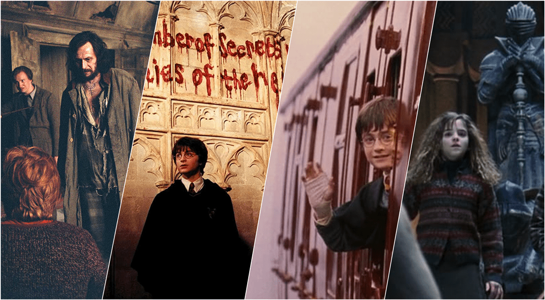 Harry Potter. zestawienie