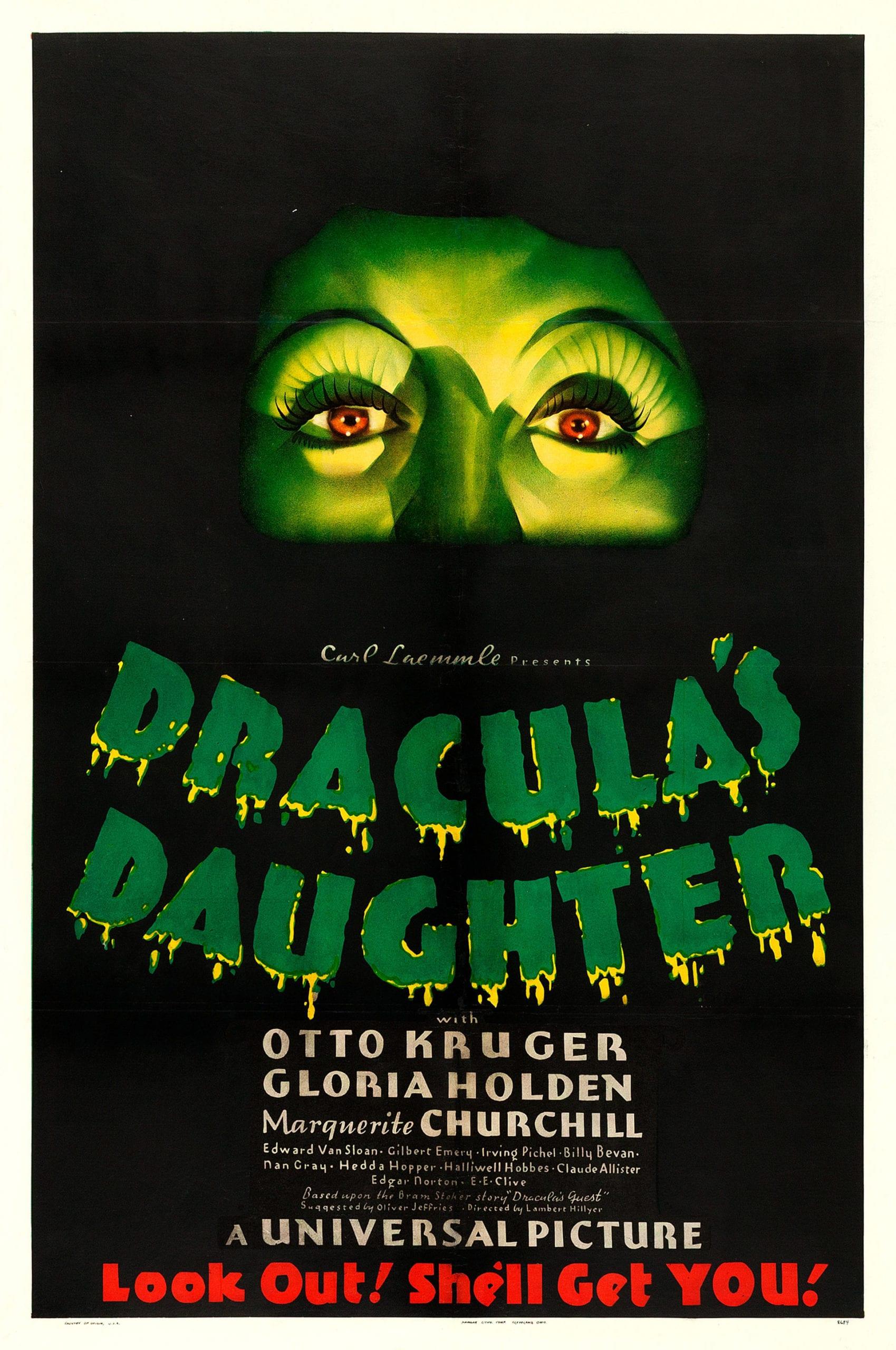 Córka Draculi plakat