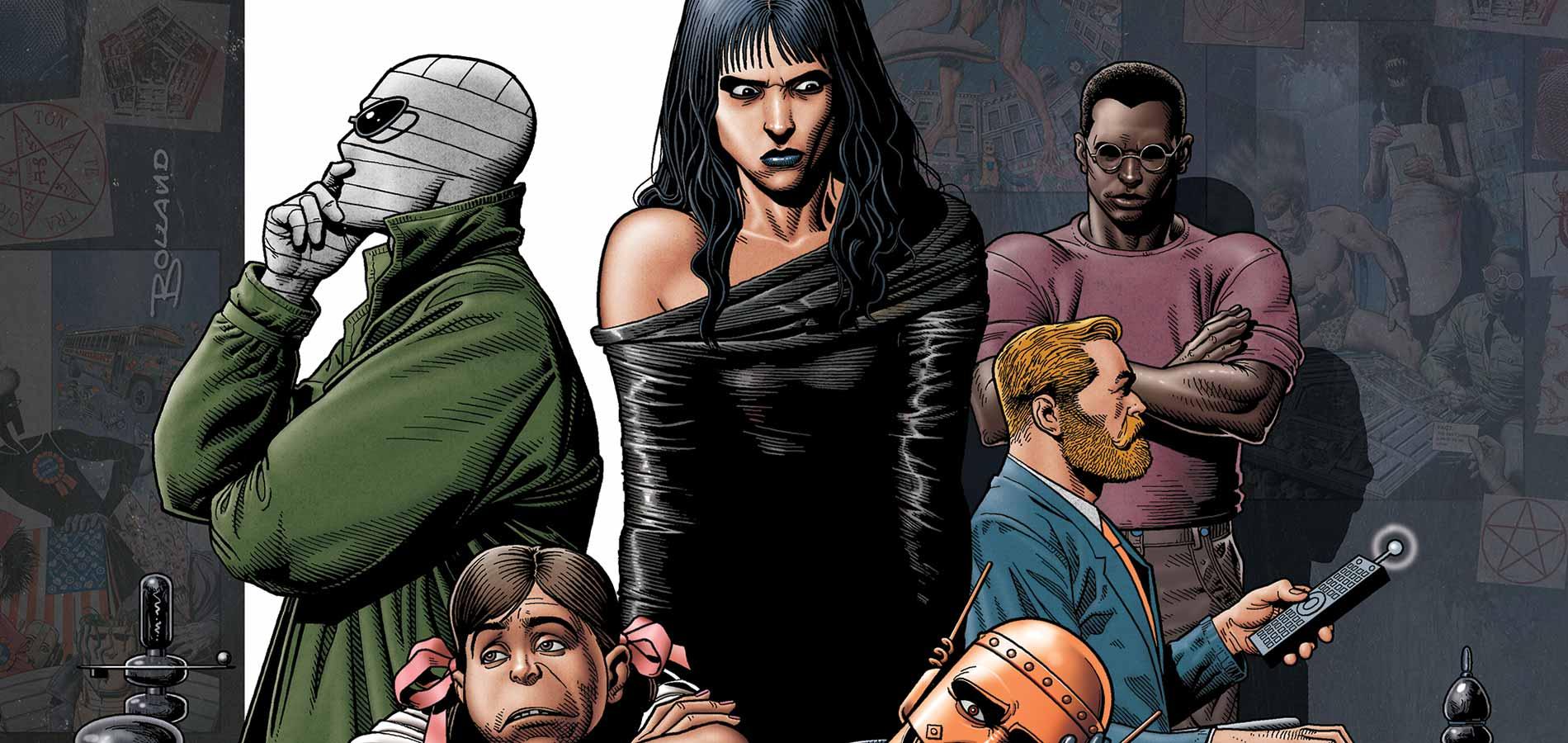 Doom Patrol Egmont recenzja DC