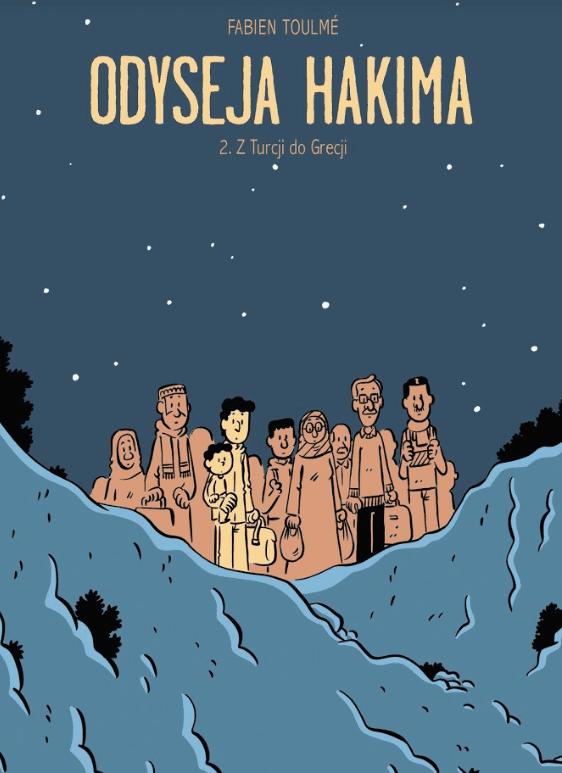 Odyseja Hakima Non Stop Comics Fabien Toulme