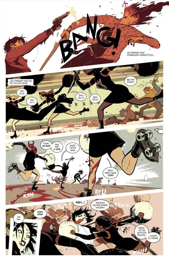 deadly class recenzja non stop comics