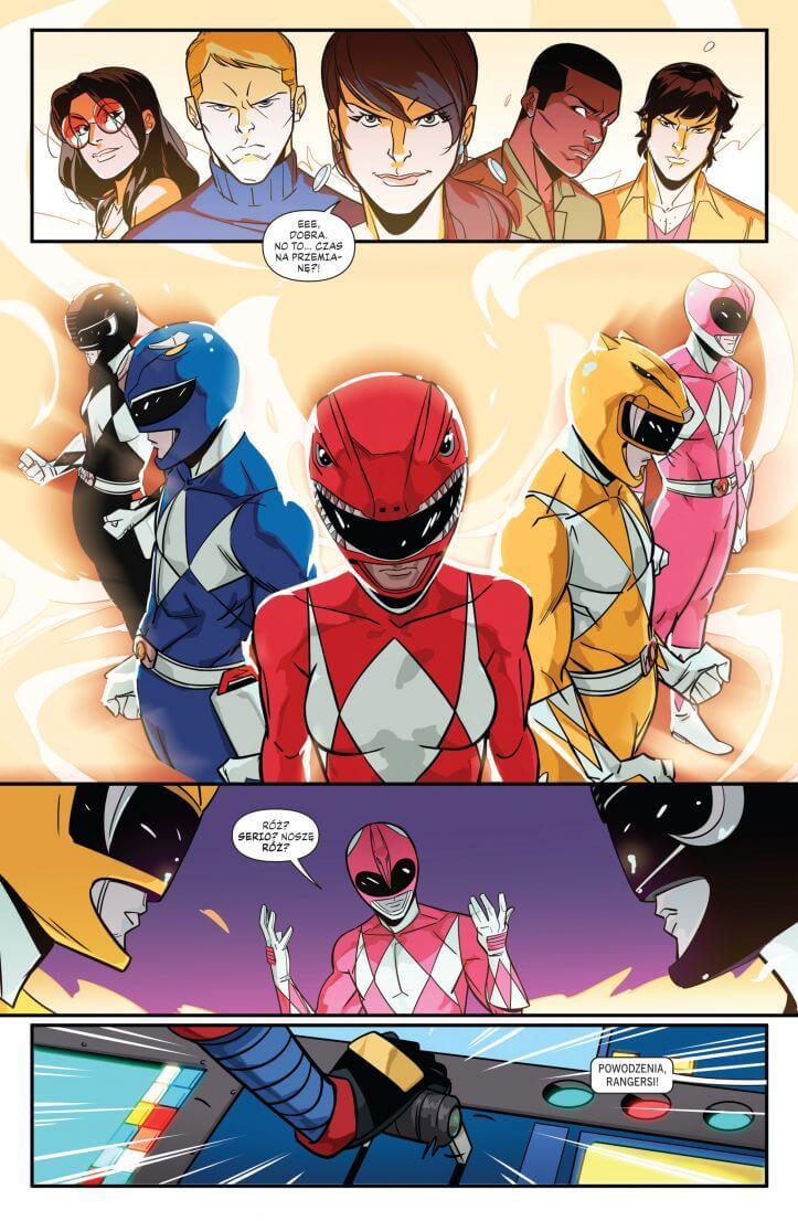 power rangers 2 komiks recenzja