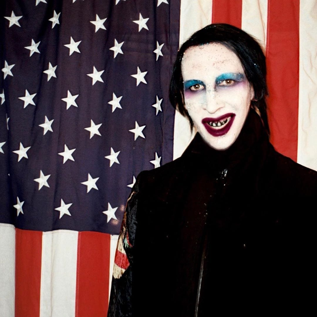 Red, Black And Blue/Marilyn Manson