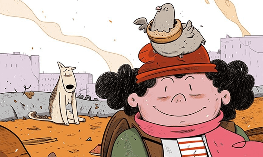 polecane komiksy dla dzieci 2020