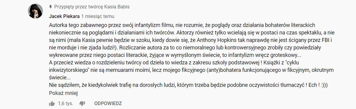 Jacek Piekara Kasia Babis