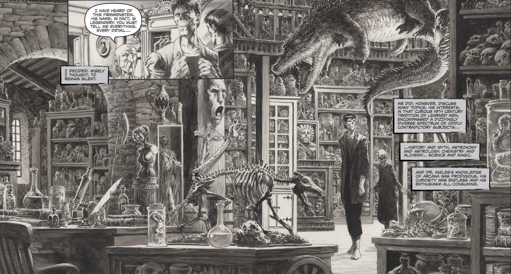 Frankenstein żyje! Żyje