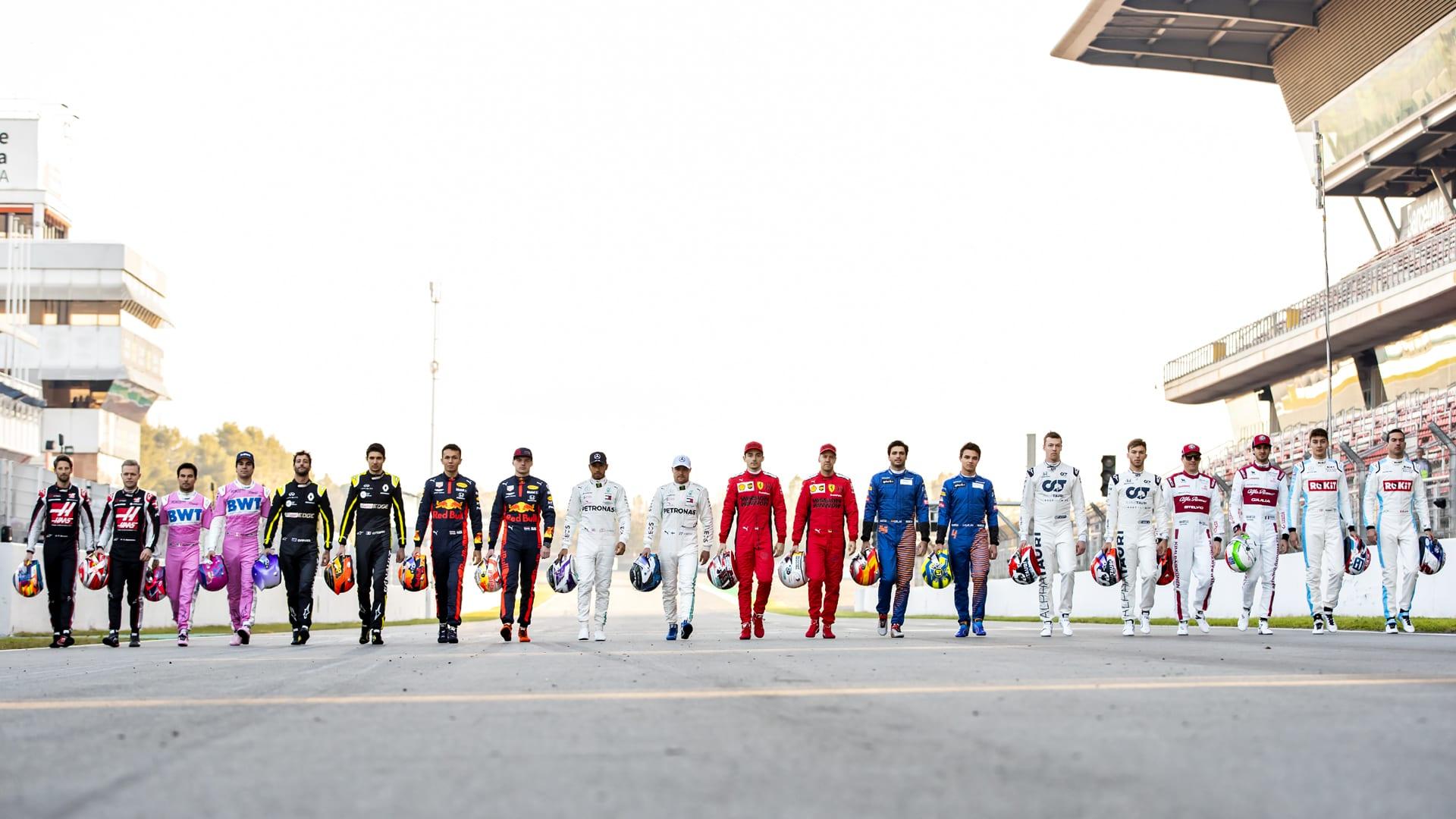 kierowcy f1 w 2020 roku